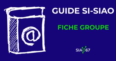 Tutoriel vidéo Si-SIAO : la fiche groupe